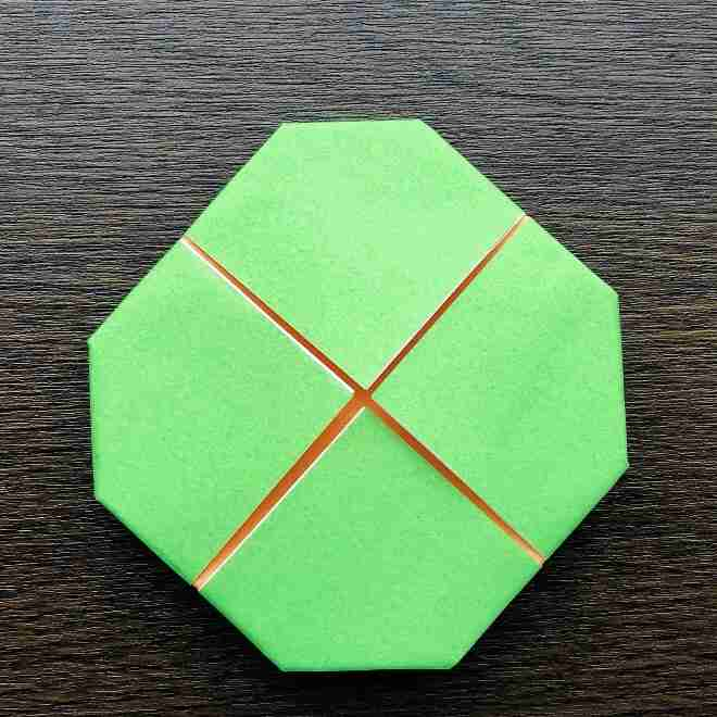 メロンパンナちゃんの折り方作り方|折り紙 (9)