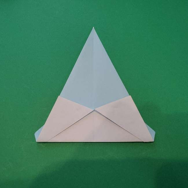 折り紙でコキンちゃんをつくる折り方作り方 (10)