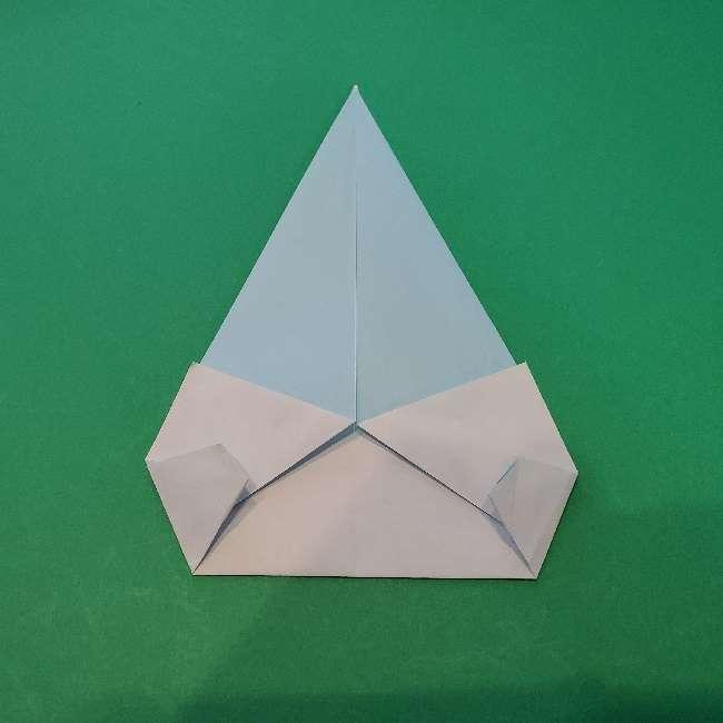 折り紙でコキンちゃんをつくる折り方作り方 (11)