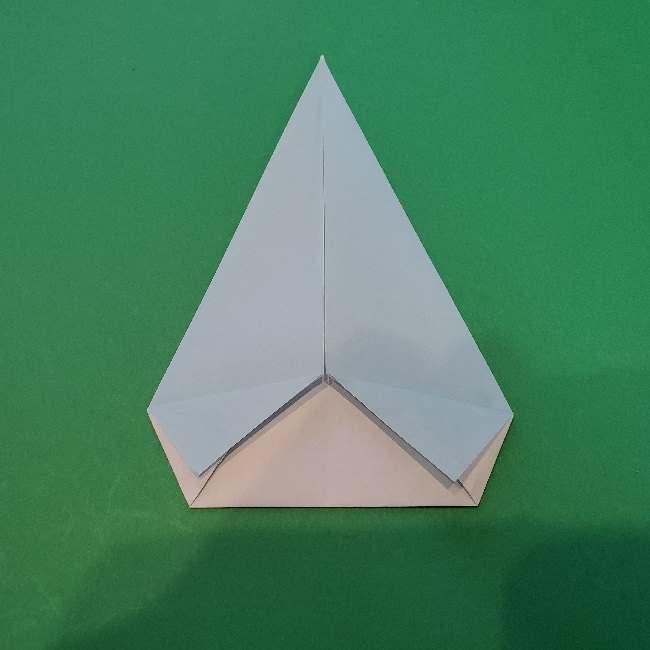 折り紙でコキンちゃんをつくる折り方作り方 (13)