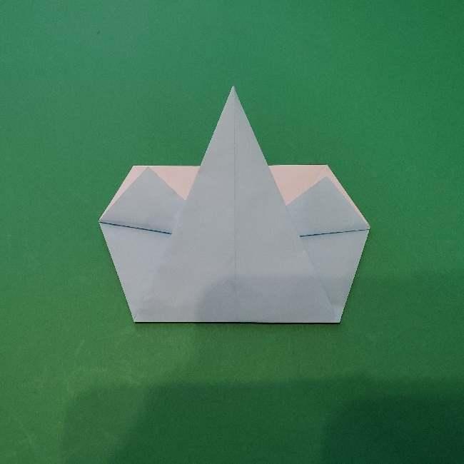 折り紙でコキンちゃんをつくる折り方作り方 (15)