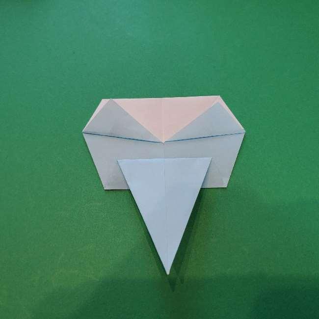 折り紙でコキンちゃんをつくる折り方作り方 (16)