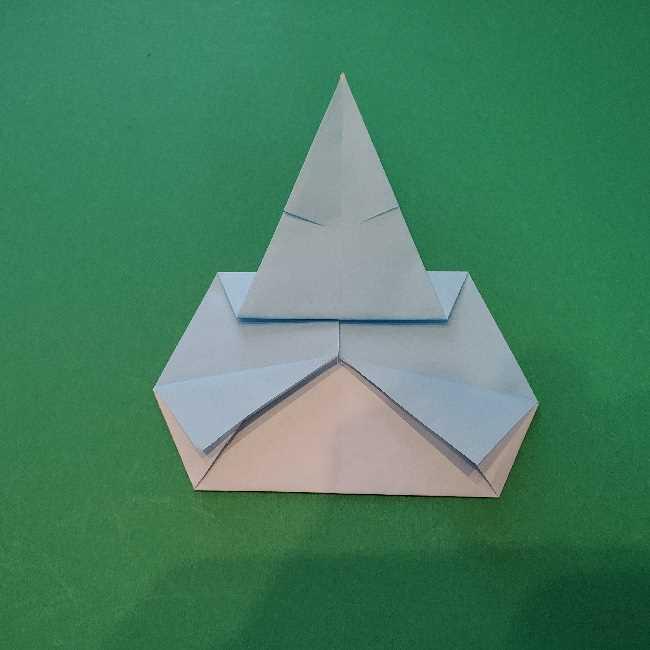 折り紙でコキンちゃんをつくる折り方作り方 (19)