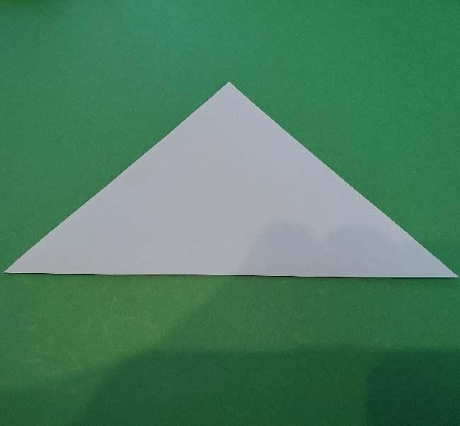 折り紙でコキンちゃんをつくる折り方作り方 (2)