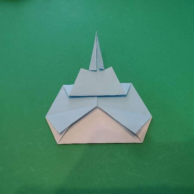 折り紙でコキンちゃんをつくる折り方作り方 (20)