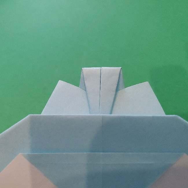 折り紙でコキンちゃんをつくる折り方作り方 (22)