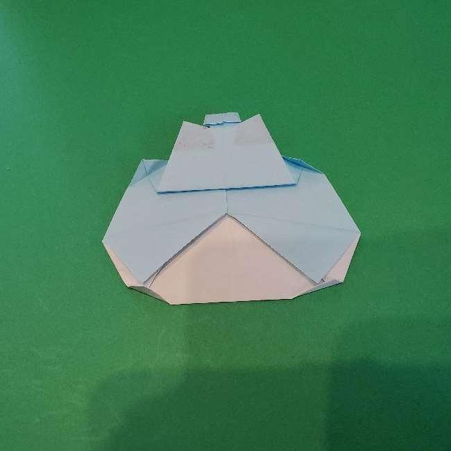 折り紙でコキンちゃんをつくる折り方作り方 (25)