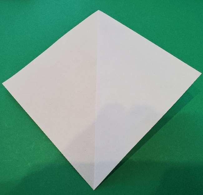 折り紙でコキンちゃんをつくる折り方作り方 (3)