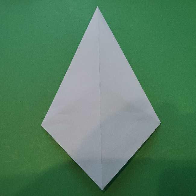 折り紙でコキンちゃんをつくる折り方作り方 (7)