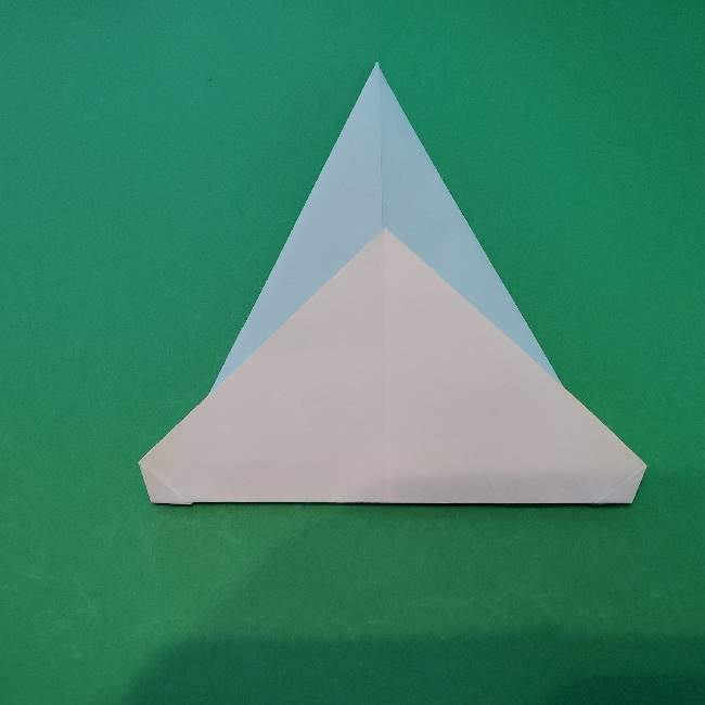 折り紙でコキンちゃんをつくる折り方作り方 (8)
