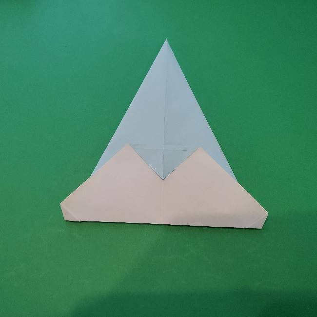 折り紙でコキンちゃんをつくる折り方作り方 (9)
