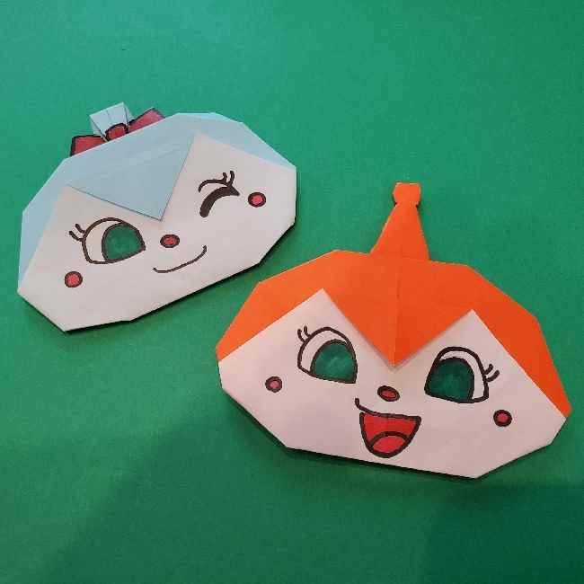 折り紙のコキンちゃんは簡単☆キュートなリボンがポイント! (1)