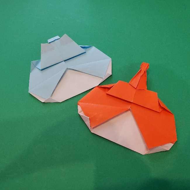 折り紙のコキンちゃんは簡単☆キュートなリボンがポイント! (2)