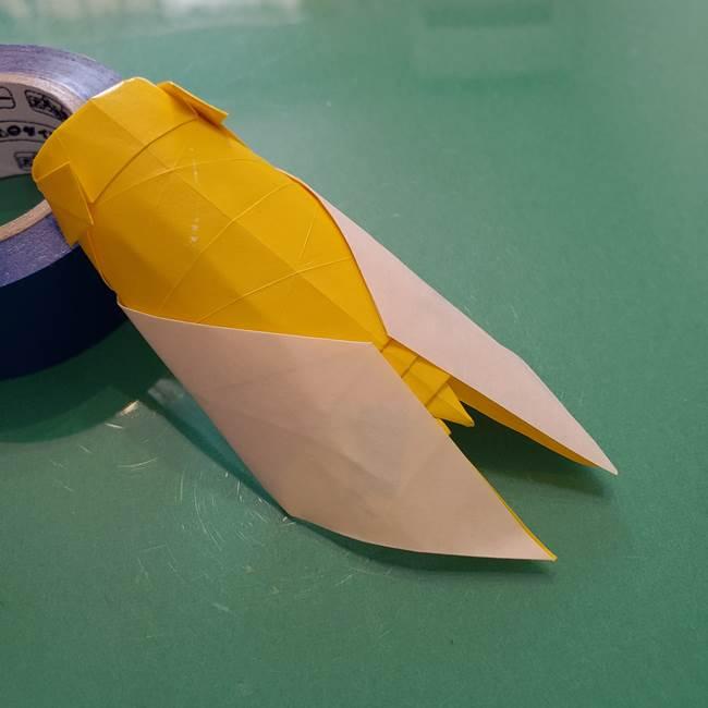 折り紙のセミは立体的で難しい?リアルに作れる折り方作り方を紹介
