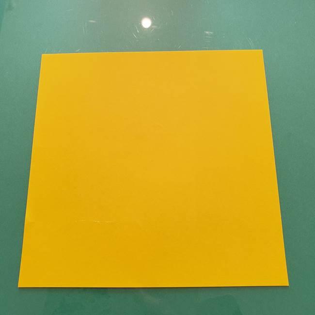 折り紙のセミは立体的で難しい?用意するもの
