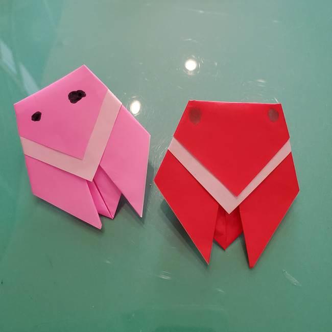 折り紙のセミは簡単に子供でも作れる♪