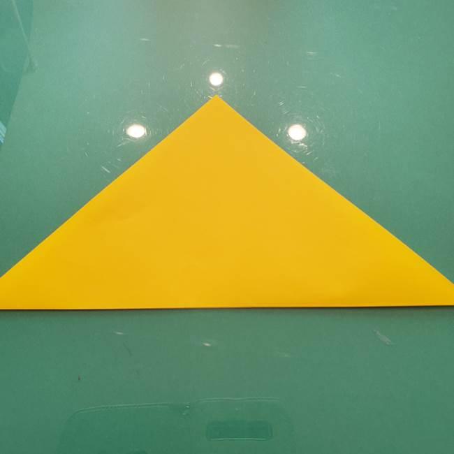 折り紙のセミ 立体的で難しい折り方・作り方(2)