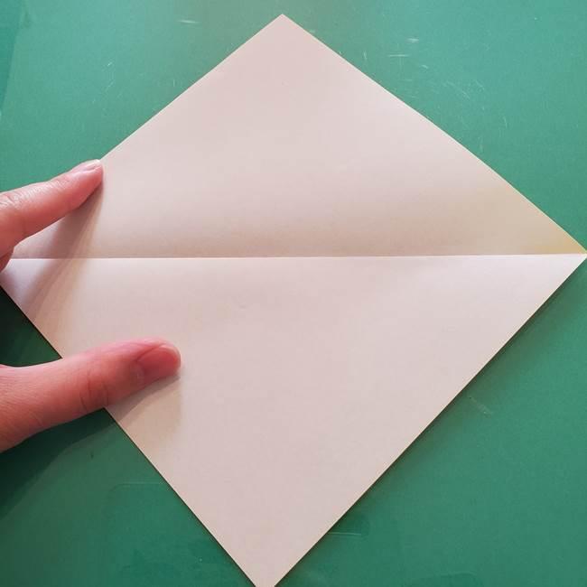 折り紙のセミ 立体的で難しい折り方・作り方(3)