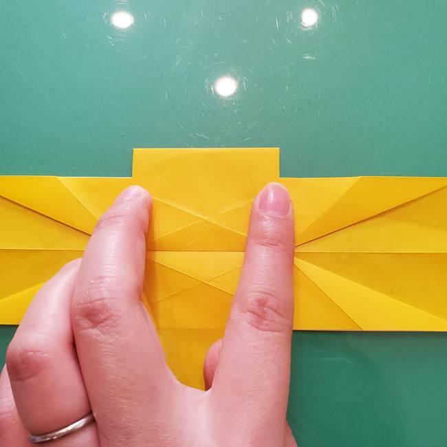 折り紙のセミ 立体的で難しい折り方・作り方(48)