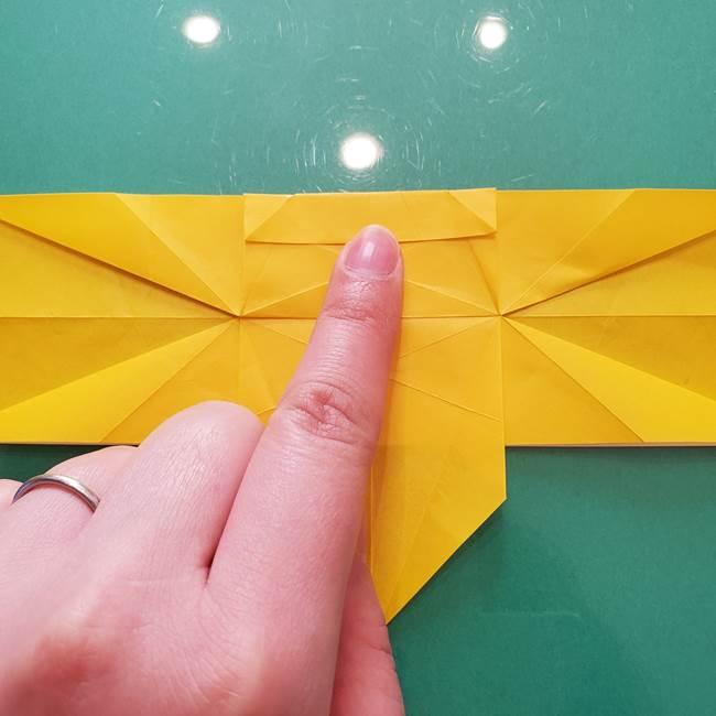 折り紙のセミ 立体的で難しい折り方・作り方(49)