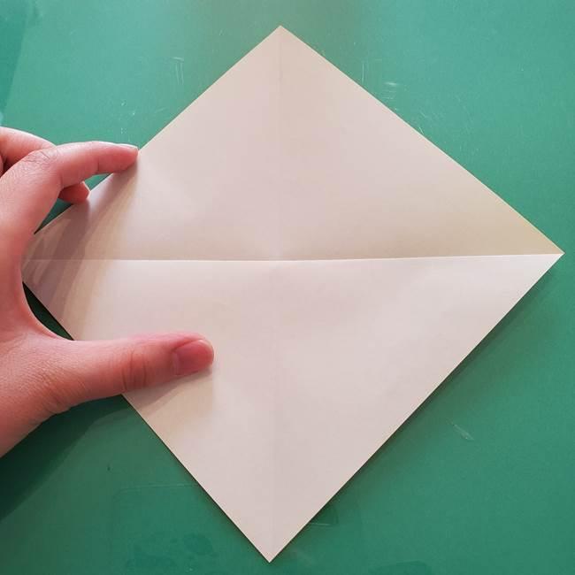 折り紙のセミ 立体的で難しい折り方・作り方(5)