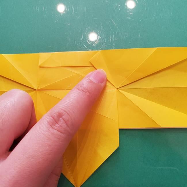 折り紙のセミ 立体的で難しい折り方・作り方(50)