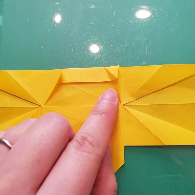 折り紙のセミ 立体的で難しい折り方・作り方(52)
