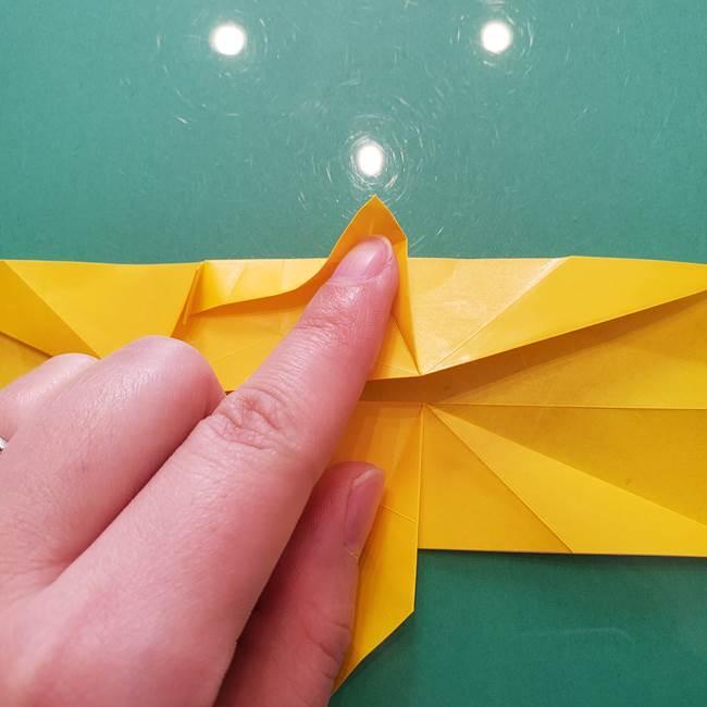折り紙のセミ 立体的で難しい折り方・作り方(53)