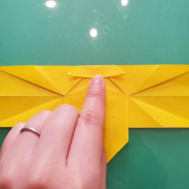 折り紙のセミ 立体的で難しい折り方・作り方(56)