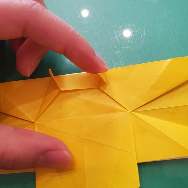 折り紙のセミ 立体的で難しい折り方・作り方(58)