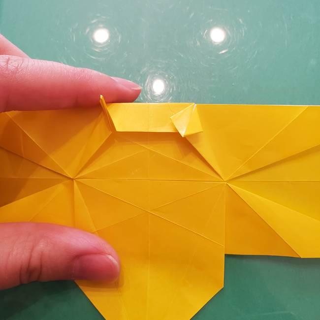 折り紙のセミ 立体的で難しい折り方・作り方(59)