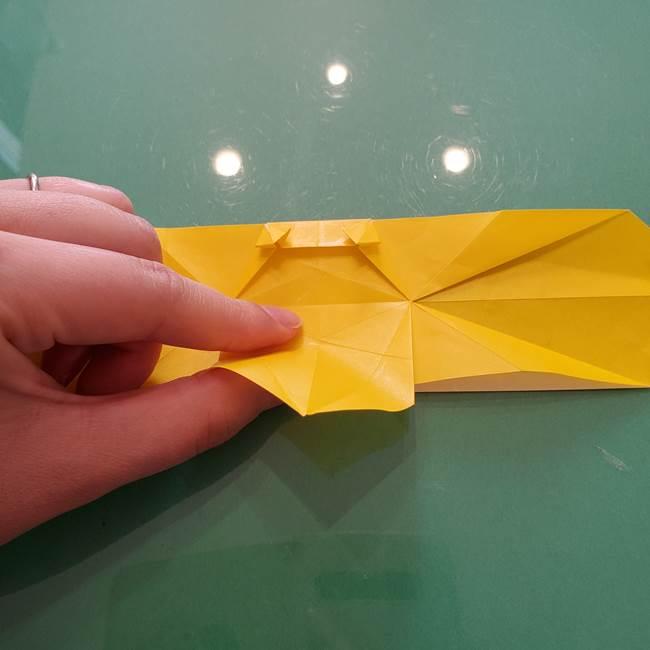 折り紙のセミ 立体的で難しい折り方・作り方(61)
