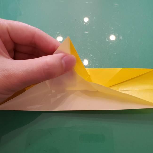 折り紙のセミ 立体的で難しい折り方・作り方(63)