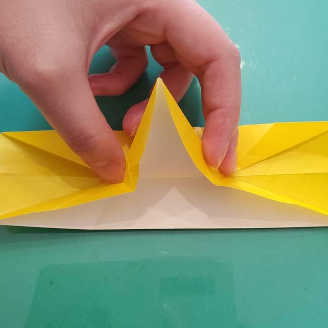 折り紙のセミ 立体的で難しい折り方・作り方(64)