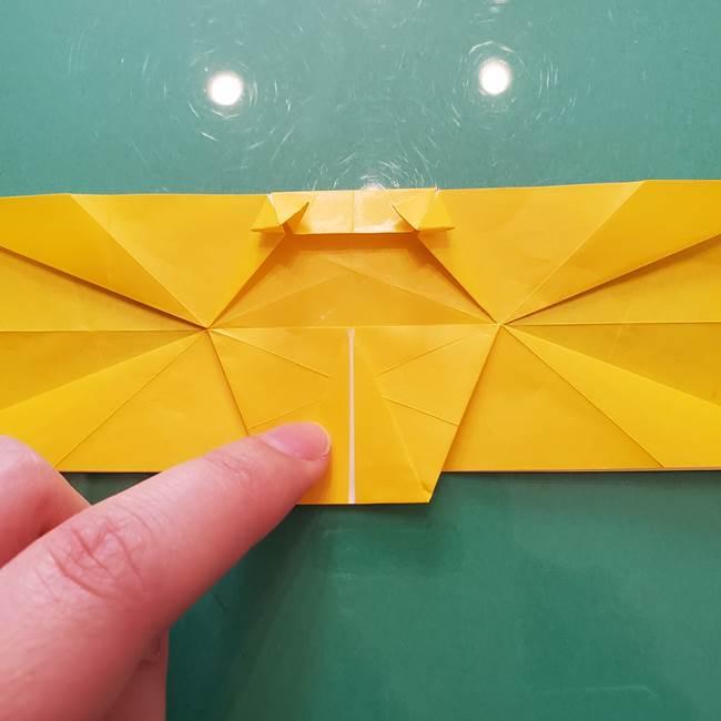 折り紙のセミ 立体的で難しい折り方・作り方(66)