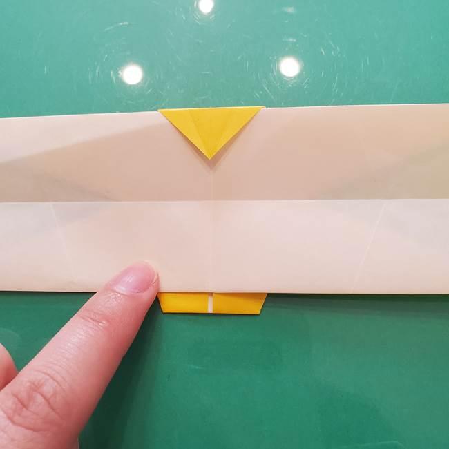 折り紙のセミ 立体的で難しい折り方・作り方(67)