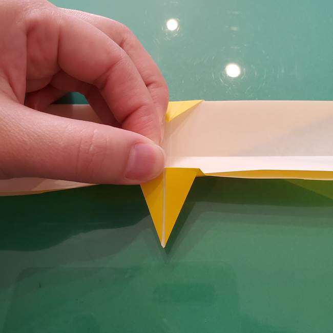 折り紙のセミ 立体的で難しい折り方・作り方(68)