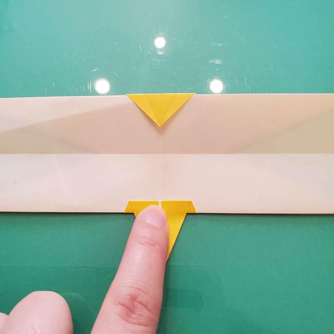 折り紙のセミ 立体的で難しい折り方・作り方(69)
