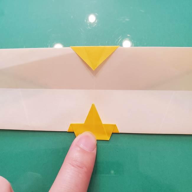 折り紙のセミ 立体的で難しい折り方・作り方(70)