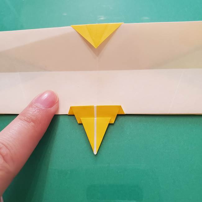 折り紙のセミ 立体的で難しい折り方・作り方(71)