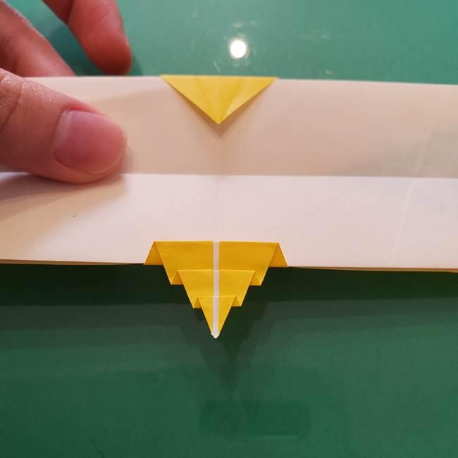 折り紙のセミ 立体的で難しい折り方・作り方(72)