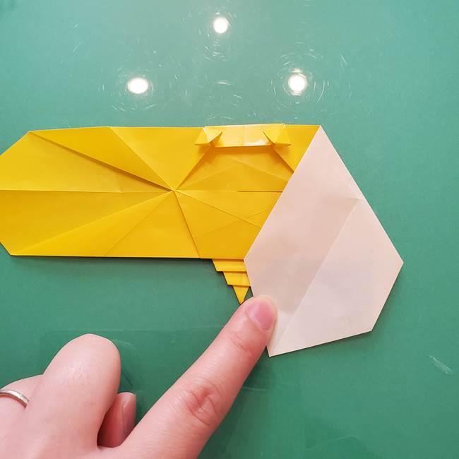 折り紙のセミ 立体的で難しい折り方・作り方(75)