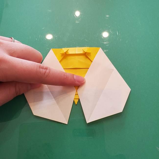 折り紙のセミ 立体的で難しい折り方・作り方(76)