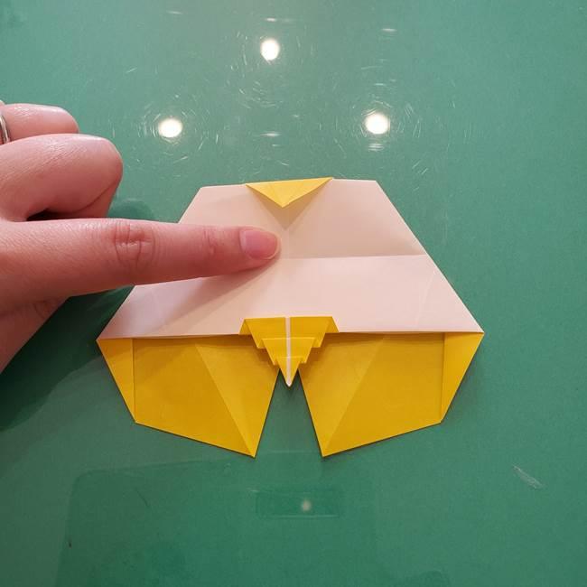 折り紙のセミ 立体的で難しい折り方・作り方(77)