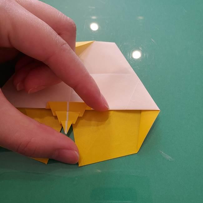 折り紙のセミ 立体的で難しい折り方・作り方(78)