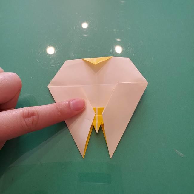 折り紙のセミ 立体的で難しい折り方・作り方(80)