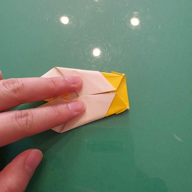 折り紙のセミ 立体的で難しい折り方・作り方(83)