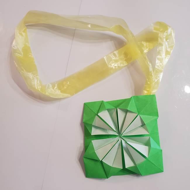 折り紙の菊は一枚でつくれる!作り方も簡単でメダルにも♪