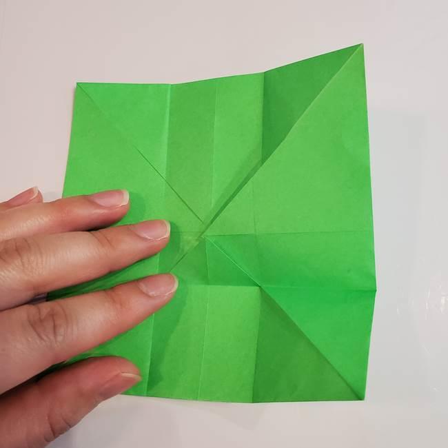 折り紙 クリーバーの折り方作り方(13)