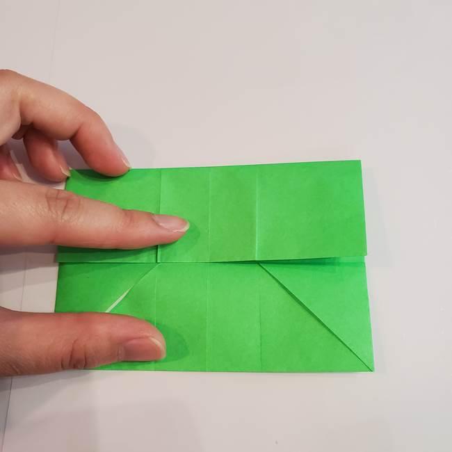 折り紙 クリーバーの折り方作り方(14)